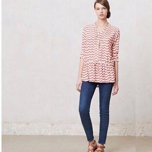 Anthropologie Isabella Sinclair Tunic Top Swizzle